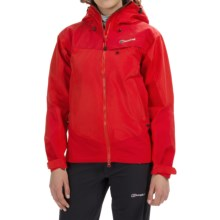 Berghaus Tower Hydroshell Jacket - Waterproof  (For Women) in Red/Red - Closeouts
