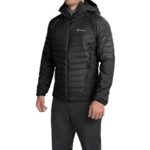 Berghaus Ulvetanna Hybrid Jacket - Hydrodown, Hydroloft® (For Men) in Black/Black - Closeouts