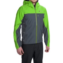 Berghaus Vapour Storm Gore-Tex® Jacket - Waterproof (For Men) in Dark Grey/Green - Closeouts