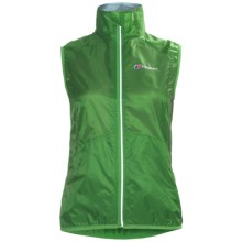 Berghaus Viso Wind Vest (For Women) in Green - Closeouts