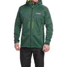 Berghaus Winter Valparola Windstopper® Soft Shell Jacket (For Men) in Green/Green - Closeouts