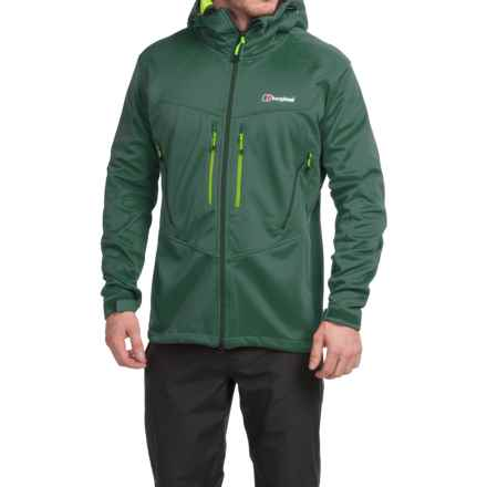 Berghaus Winter Valparola Windstopper® Soft Shell Jacket (For Men) in Green/Green - Closeouts