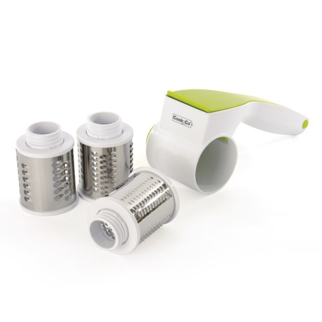 BergHOFF CooknCo Rotary Cheese Grater in Green/White
