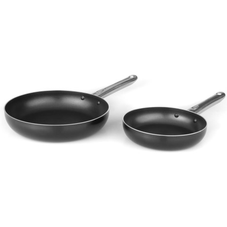 BergHOFF Earthchef Boreal Stainless Steel Fry Pan Set 2 Piece