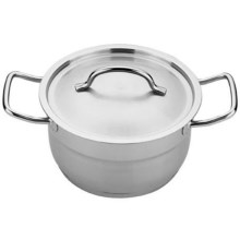 "BergHOFF Hotel Line 8"" Covered Dutch Oven - 3 qt. in Stainless Steel - Closeouts"