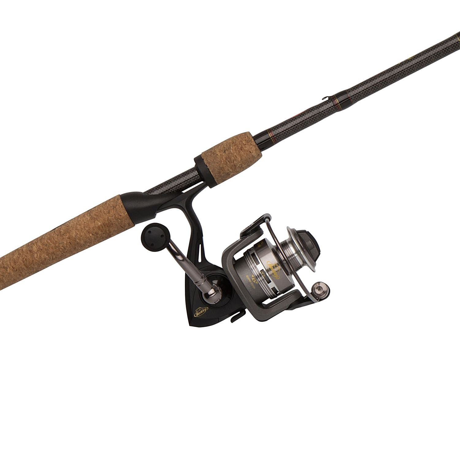Berkley lightning rod spinning rod and reel combo 1 for Fishing rods and reels