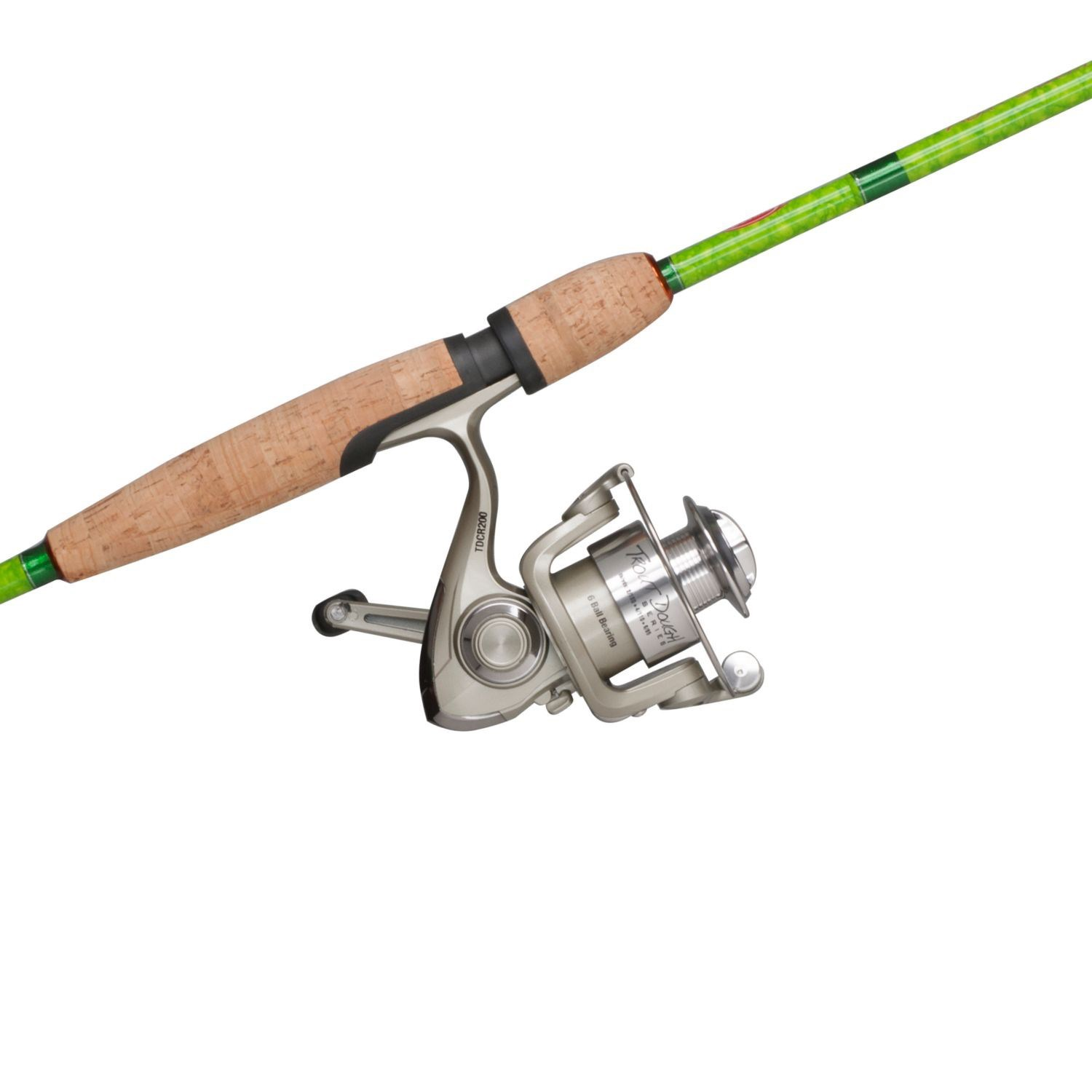 Berkley trout dough spinning rod and reel combo 2 piece for Trout fishing rod and reel