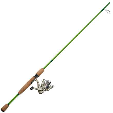 "Berkley Trout Dough Spinning Rod/Reel Combo - 2-Piece, 6'6"", Ultralight in See Photo - Closeouts"