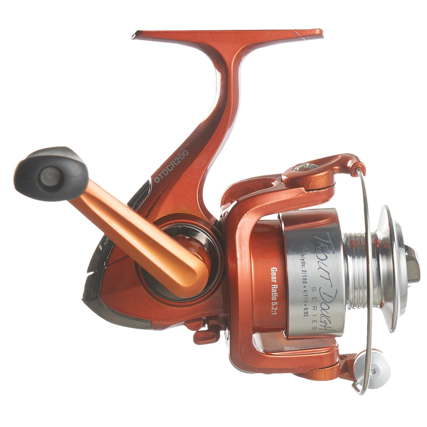 Berkley trout dough spinning rod reel combo 2 piece 7 for Trout fishing rod and reel