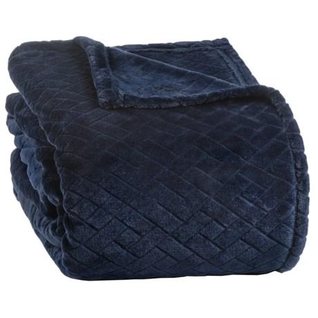 Berkshire Blanket Basket-weave Velvetloft(r) Blanket Full-queen