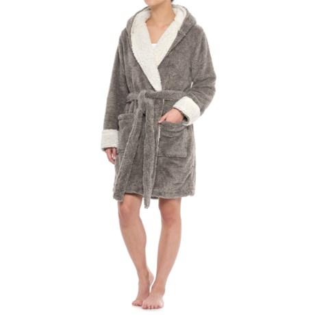 Image of Berkshire Blanket Day Dream Reindeer Robe and Throw Blanket (For Women)