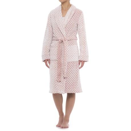 Berkshire Blanket Day Dream Robe and Throw Blanket Set (For Women)