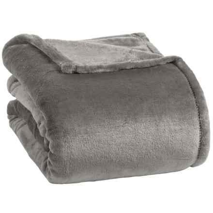 Berkshire Blanket Opulence VelvetLoft® Blanket - King in Gull - Closeouts