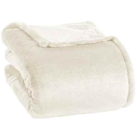 Berkshire Blanket Opulence Velvetloft® Blanket - Twin in Cream - Closeouts