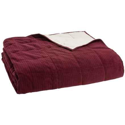 Berkshire Blanket Polartec® Down-Alternative Blanket - Twin, Reversible in Merlot - Closeouts