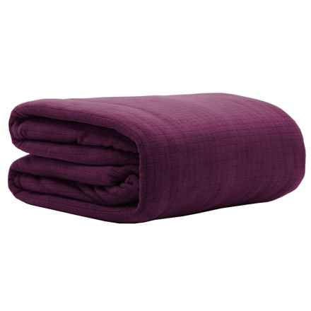 Berkshire Blanket Polartec® Softec Blanket - King in Blackberry Wine - Closeouts