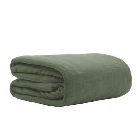 Berkshire Blanket Polartec® Softec Blanket - Twin in Ivy - Closeouts