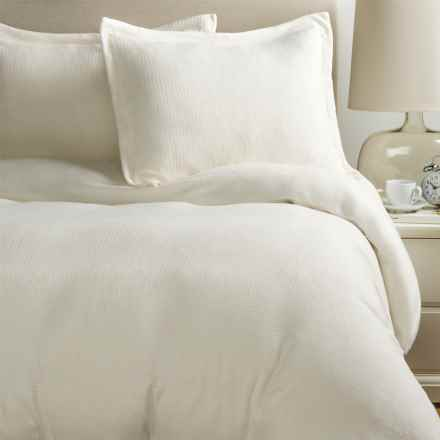 Berkshire Blanket Polartec® Softec Duvet Cover Set - Full-Queen in Cream - Closeouts
