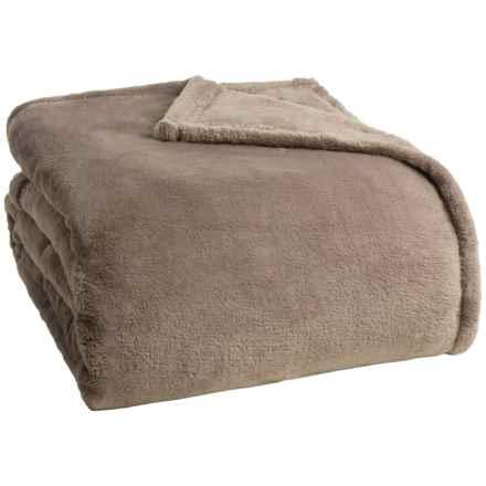 Berkshire Blanket Primalush Blanket - King in Desert Taupe - Closeouts