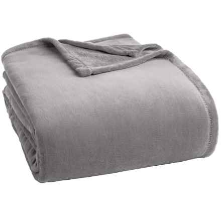Berkshire Blanket Serasoft Blanket - King in Chateau Grey - Closeouts