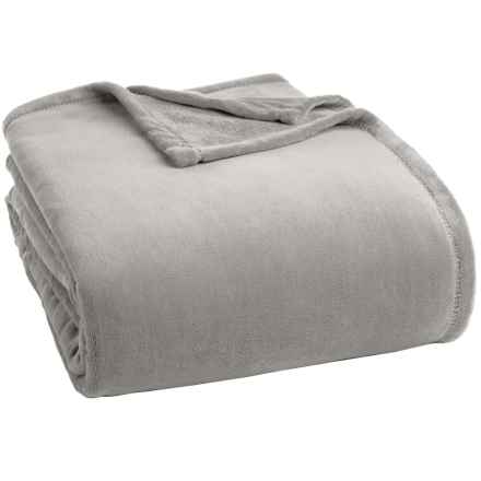 berkshire blanket serasoft blanket king in stone closeouts - King Size Blanket