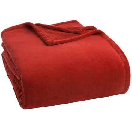 Berkshire Blanket Serasoft Blanket - Twin in Gingerspice - Closeouts