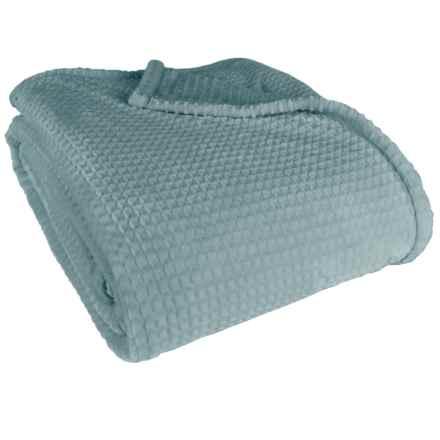 Berkshire Blanket Waffle VelvetLoft® Blanket - Full-Queen in Mineral - Closeouts