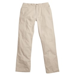 Berle Enzyme Stonewash Pants - Cotton Twill, 5-Pocket (For Men) in Stone