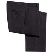 Berle Hampton Dress Pants - Wool Gabardine (For Men) in Navy - Closeouts