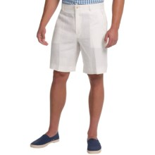 Berle Linen Shorts (For Men) in Cream - Closeouts