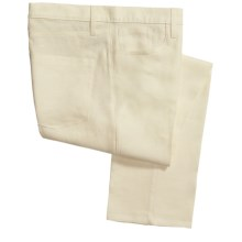Berle Vintage 1946 Linen Pants - 5-Pocket (For Men) in Natural - Closeouts