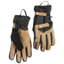 Bern Adult Rawhide Leather Gloves - Waterproof, Insulated (For Men) in Tan - Closeouts