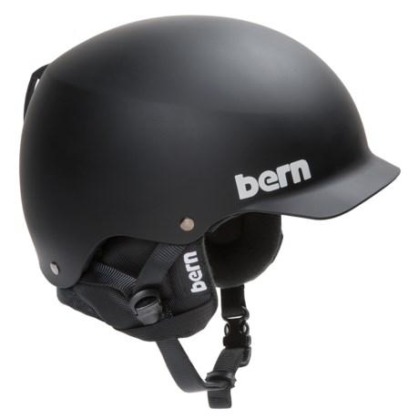 Bern Baker EPS Hatstyle Multi-Sport Helmet in Matte Black