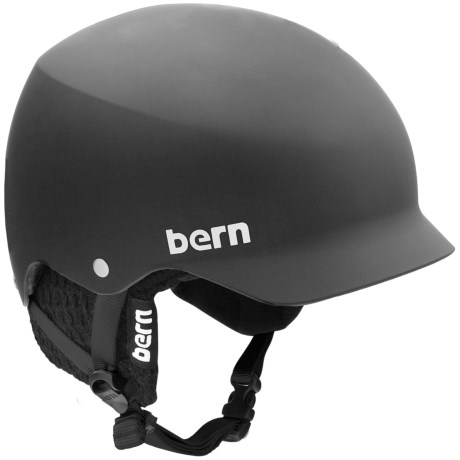 Bern Baker Multi-Sport Helmet - Removable Liner in Matte Black/Black
