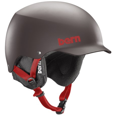 Bern Baker Multi-Sport Helmet - Removable Liner in Matte Grey
