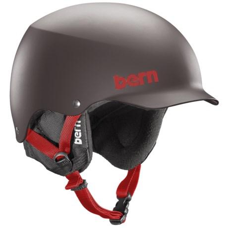 Bern Baker Multi-Sport Helmet - Removable Liner in Matte Grey