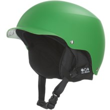 Bern Baker Multi-Sport Helmet - Removable Liner in Neon Green/Black - Closeouts