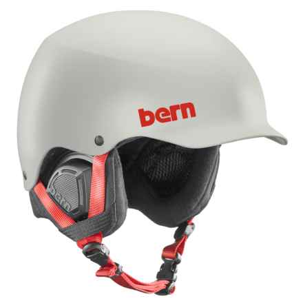Bern Baker Ski Helmet in Satin Light Gray - Closeouts