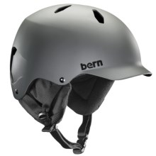 Bern Bandito Ski Helmet (For Big Boys) in Matte Grey - Closeouts