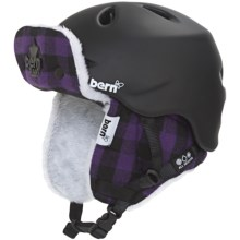 Bern Berkeley Multi-Sport Helmet - Removable Liner, Zip Mold® (For Women) in Matte Black/Buffalo Plaid Hunter - Closeouts
