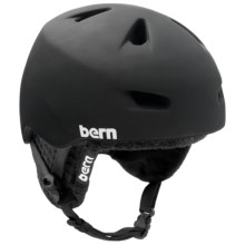Bern Brentwood Multi-Sport Helmet - Removable Knit Liner in Matte Black W/Black Knit - Closeouts