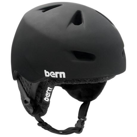 Bern Brentwood Multi-Sport Helmet - Removable Knit Liner in Matte Black W/Black Knit