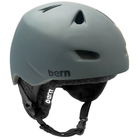 Bern Brentwood Multi-Sport Helmet - Removable Knit Liner in Matte Black W/Black Knit