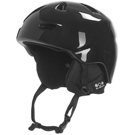 Bern Brentwood Multi-Sport Helmet - Removable Liner in Gloss Black/Black
