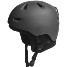 Bern Brentwood Zip Mold® Multi-Sport Helmet - Removable Winter Liner in Matte Grey/Black Knit - Closeouts
