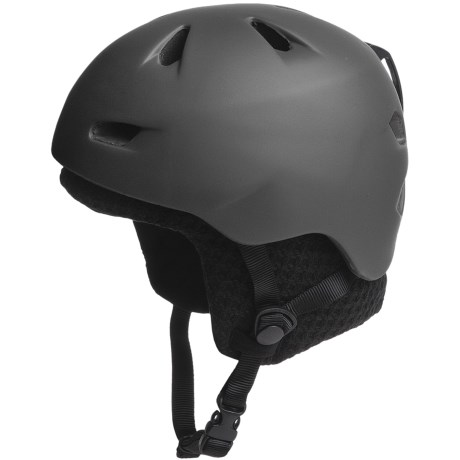 Bern Brentwood Zip Mold® Multi-Sport Helmet - Removable Winter Liner in Matte Grey/Black Knit