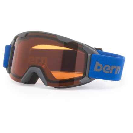 Bern Brewster Ski Goggles (For Little and Big Kids) in Grey - Closeouts