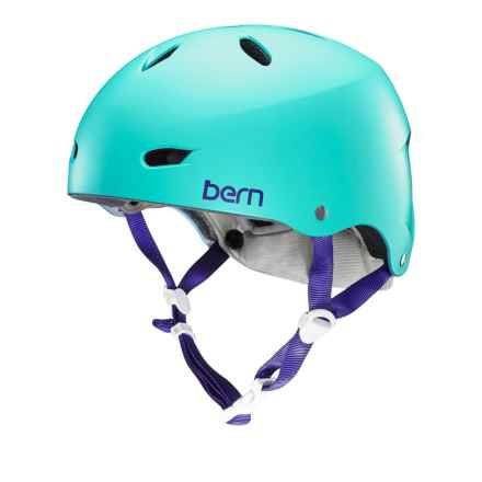 Bern Brighton EPS Bike Helmet (For Women) in Satin Seafoam Green - Closeouts