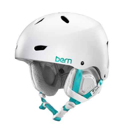 Bern Brighton EPS Bike Helmet (For Women) in Satin White - Closeouts