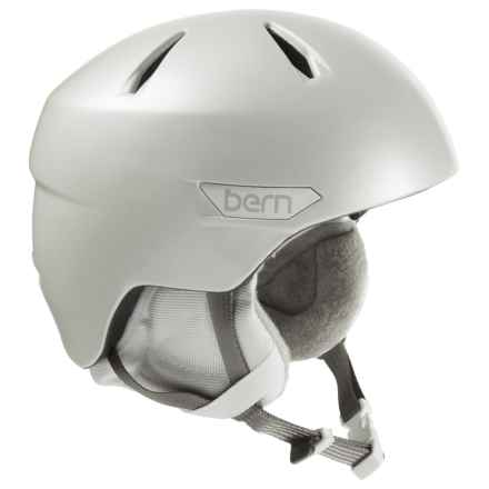 Bern Bristow Ski Helmet (For Women) in Satin Delphin Grey - Closeouts